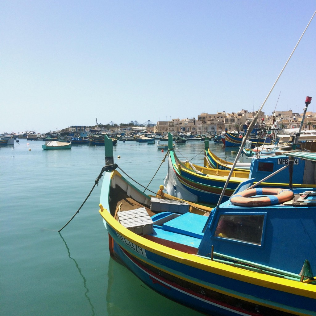 All About Malta - Marsaxlokk fishing boats, the luzzus