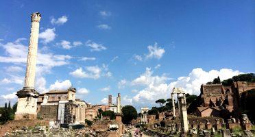 All roads lead to Rome | www.geekyexplorer.com