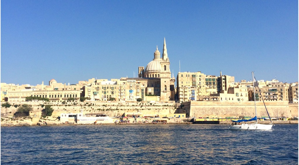 La Valletta in Malta Island Is Least European Capital