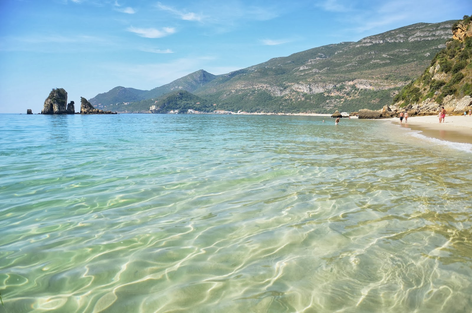 lisbon travel blog guide arrabida beach