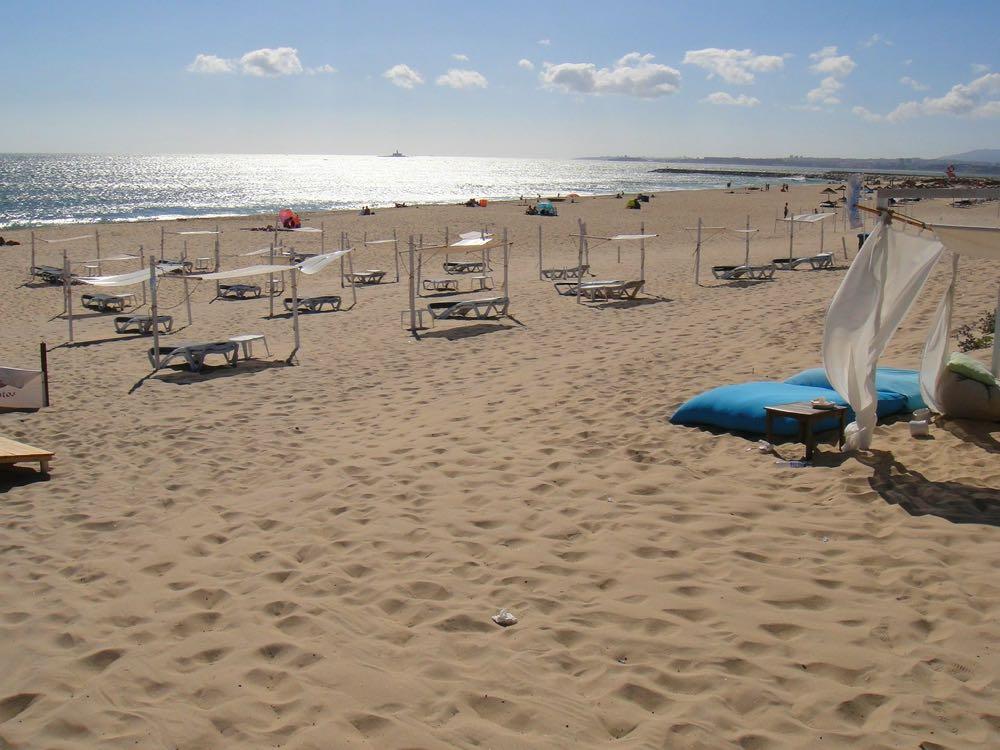 best beaches lisbon caparica coast