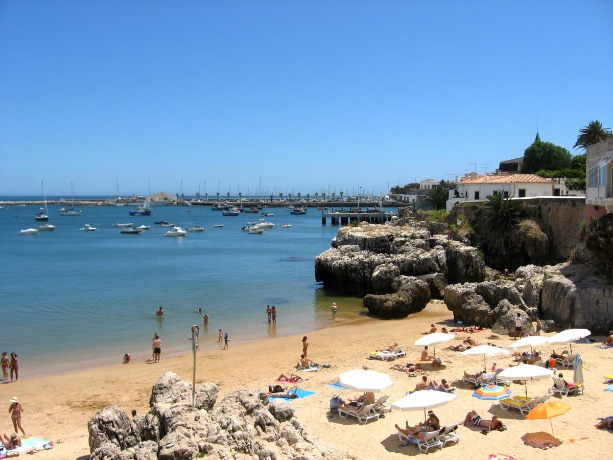 best beaches lisbon portugal cascais