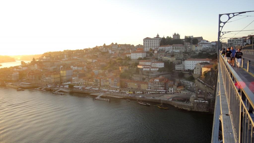 Porto and São João Festival - Dom Luis bridge