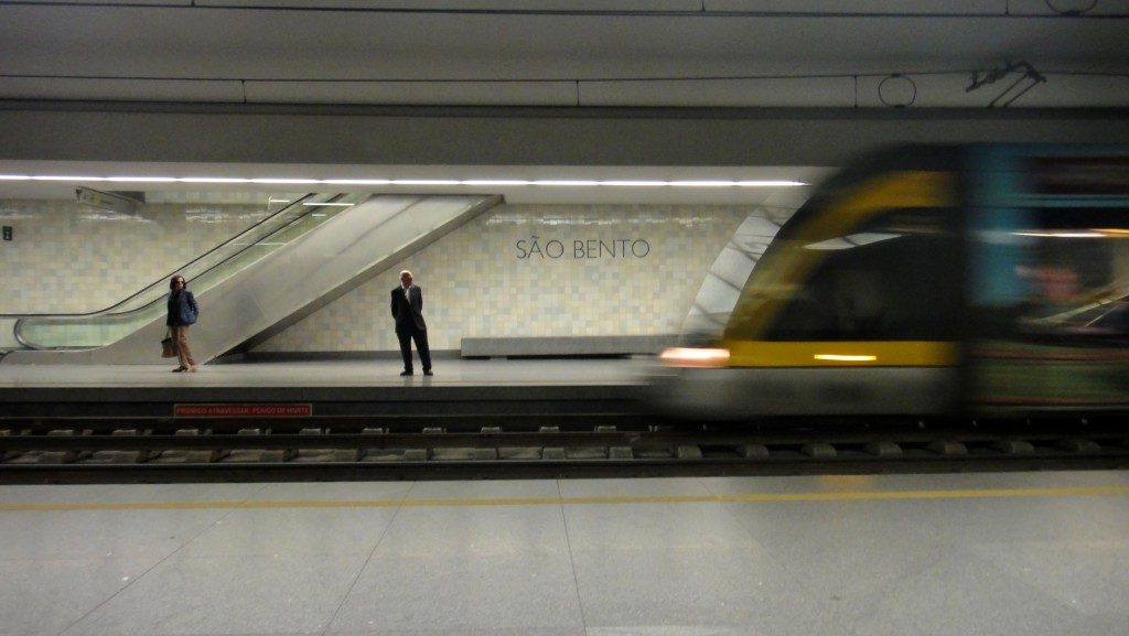 Porto and São João Festival - Porto metro station
