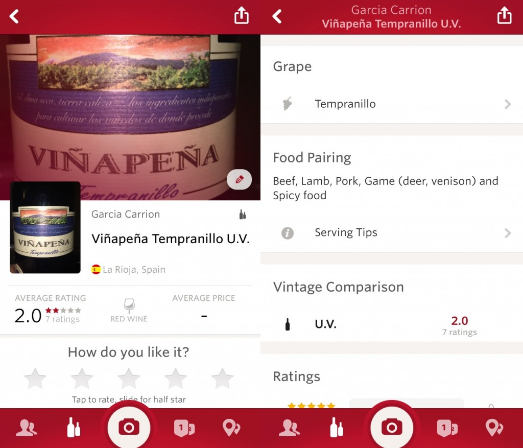 essential apps for travellers - Vivino app