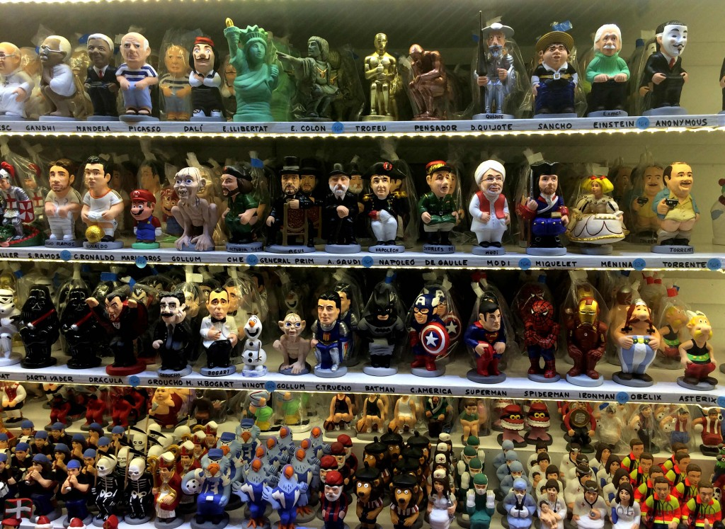 christmas in Barcelona and bizarre traditions - El Caganer