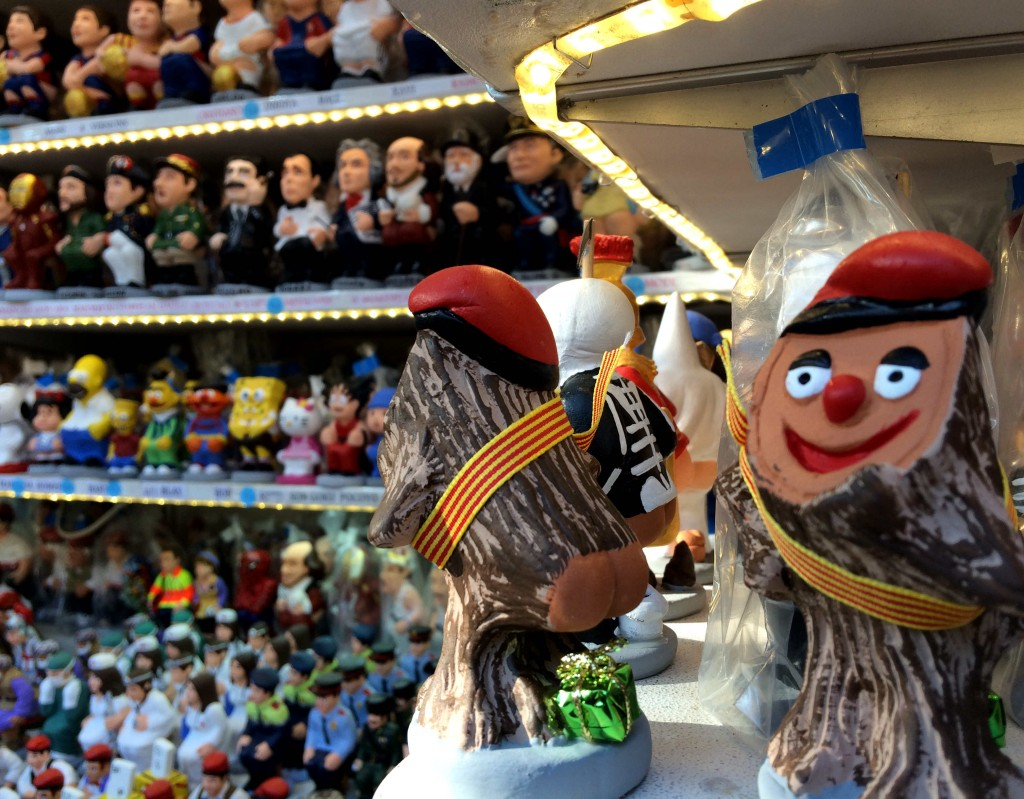 christmas in Barcelona spain - Caganers and other bizarre christmas traditions
