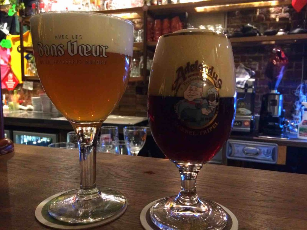 popular belgian food - Beers at Moeder Lambic