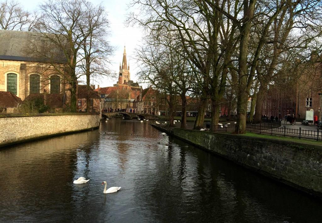 best medieval town Bruges Brugge