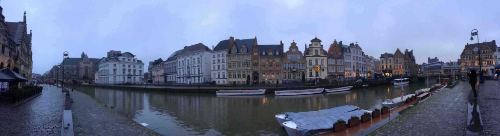 city of Ghent Panorama