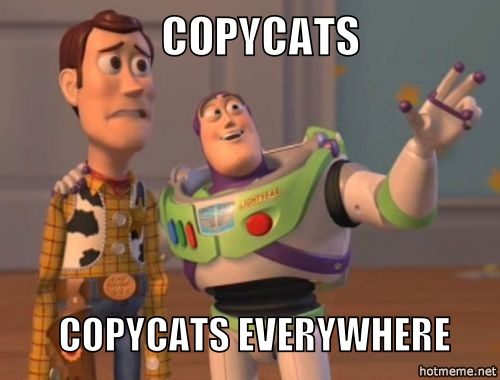 Copycats | 7 things I didn't know about blogging | Geeky Explorer