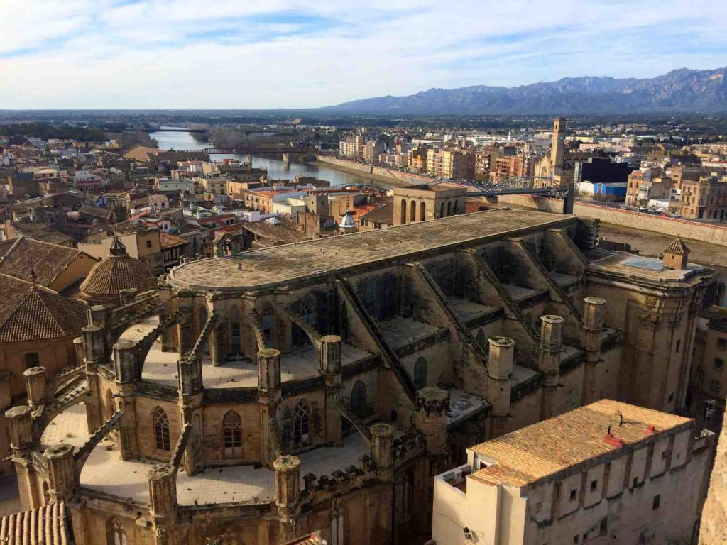Tortosa And Ebro Delta - city view