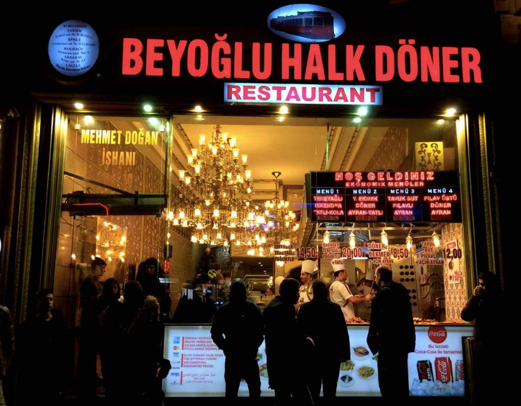 experiences to have in Istanbul  - Doner
