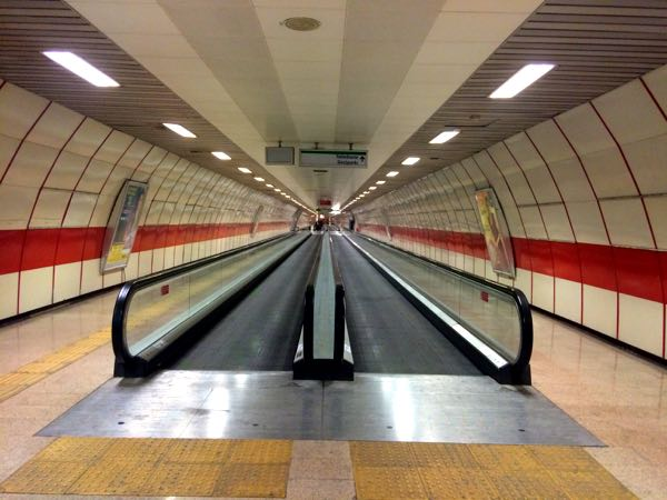 famous sights in Istanbul - Taksim Metro