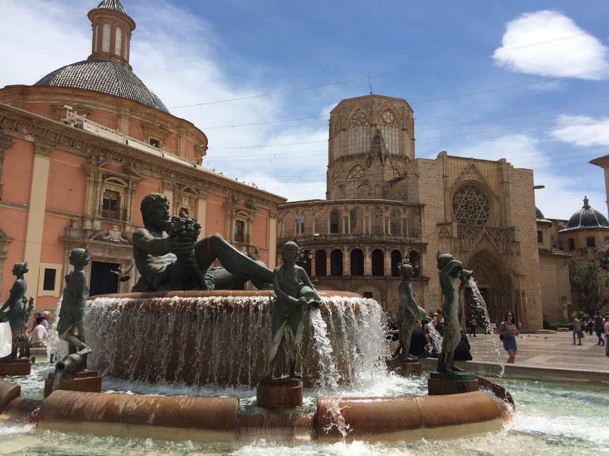 why is valencia worth visiting - Plaza de la Virgen Valencia