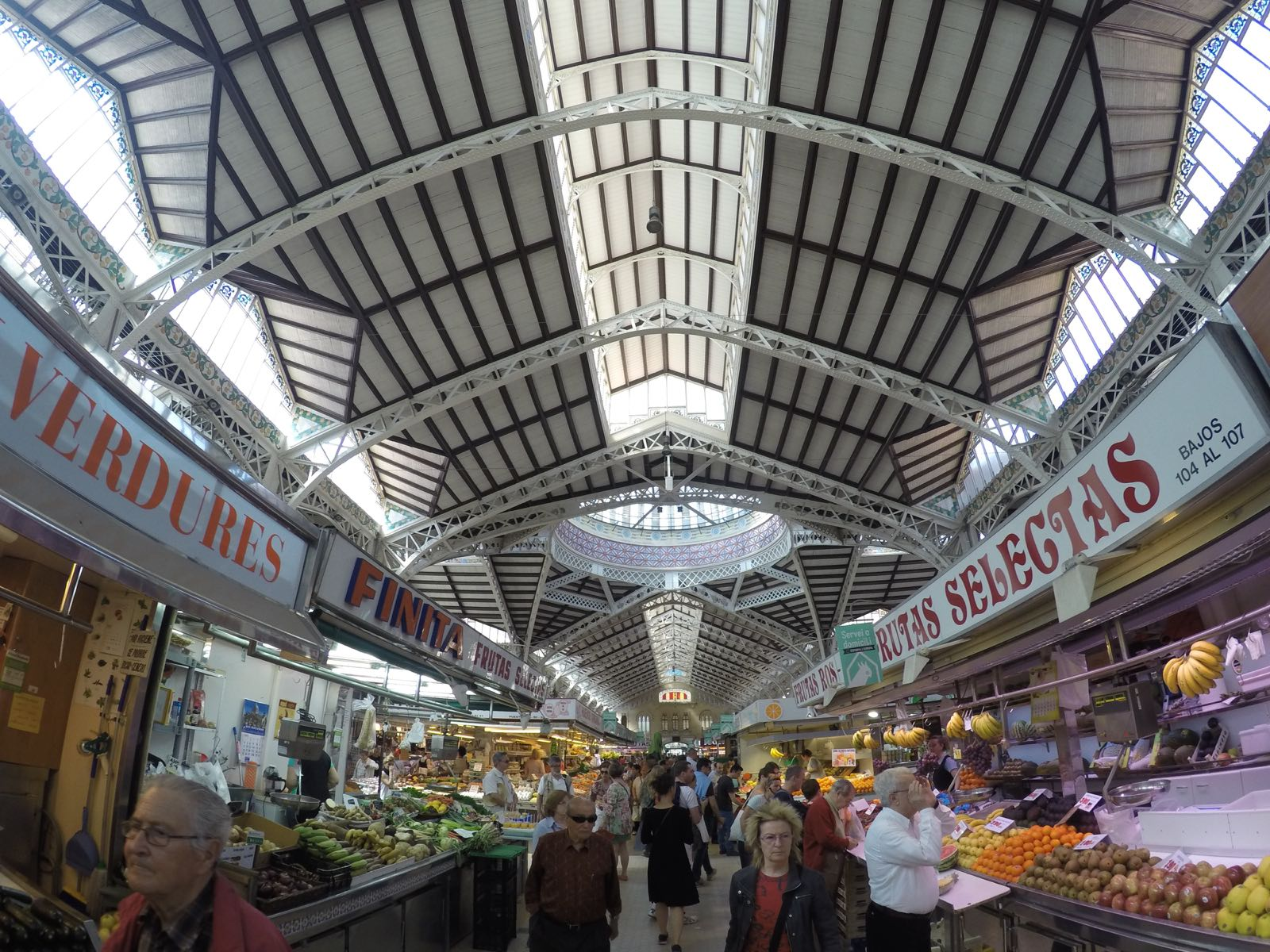 valencia worth visiting - Mercado Central de Valencia