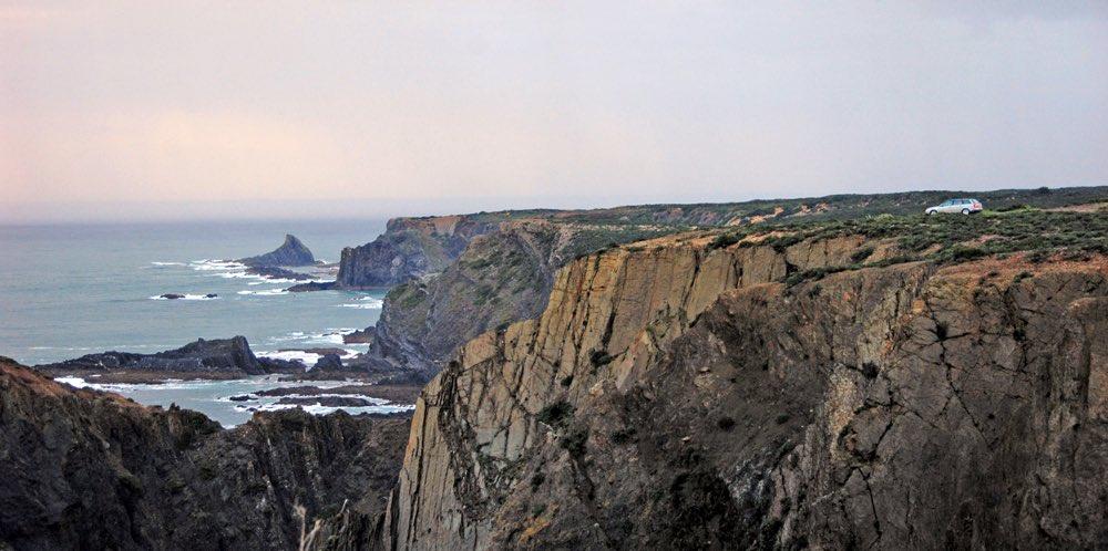 portugal road trip alentejo coastline arrifana