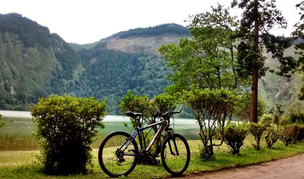 outdoor activities azores biking mtb