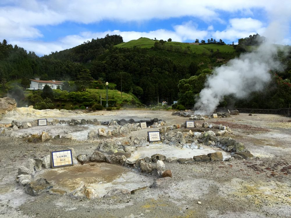 São Miguel azores guide places to go furnas
