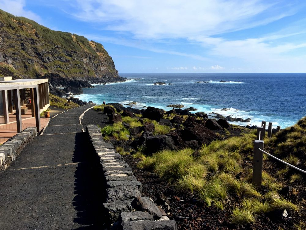 route 4-day itinerary of São Miguel acores - Ferraria