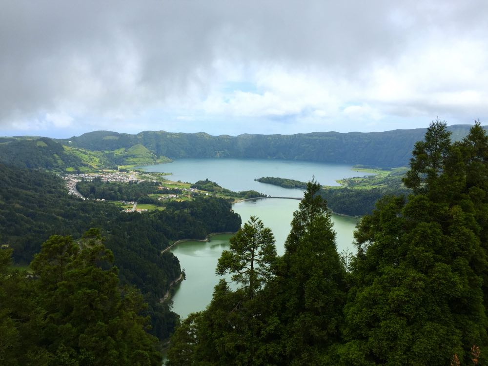 local itinerary of São Miguel island - Sete Cidades Vista do Rei