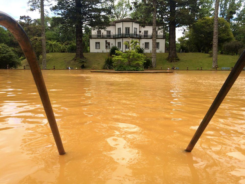 itinerary of São Miguel acores portugal - Terra Nostra Park Hotel