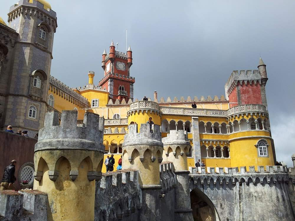 portugal road trip along the coast - sintra Pena Palace