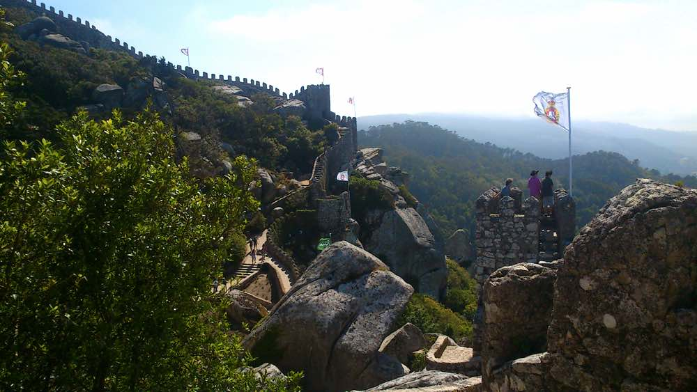 worth visiting Portugal - Castle in Sintra