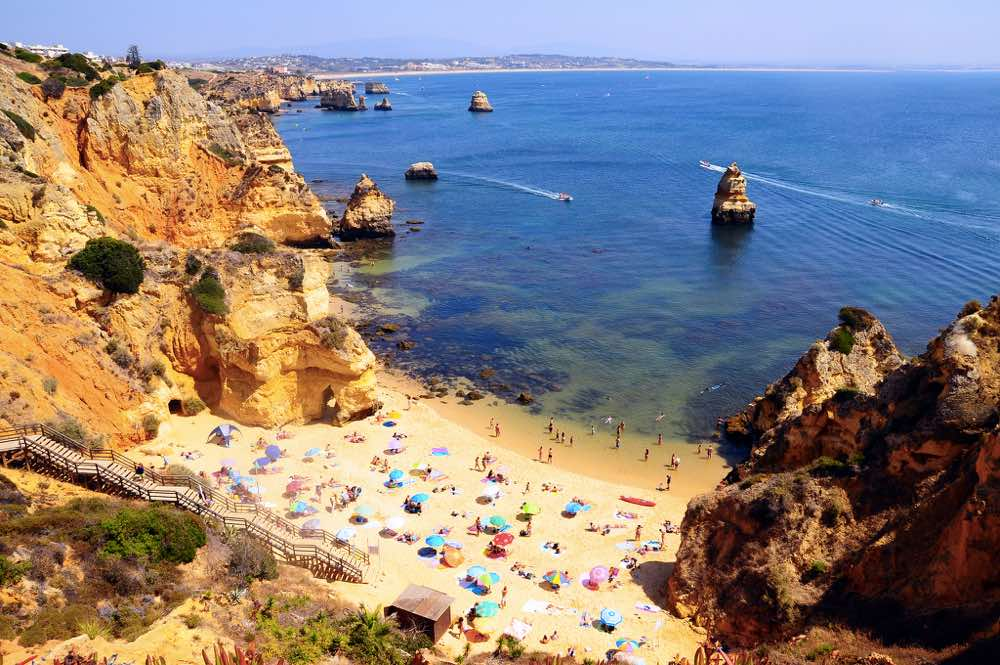 Visiting Portugal - Prainha Algarve
