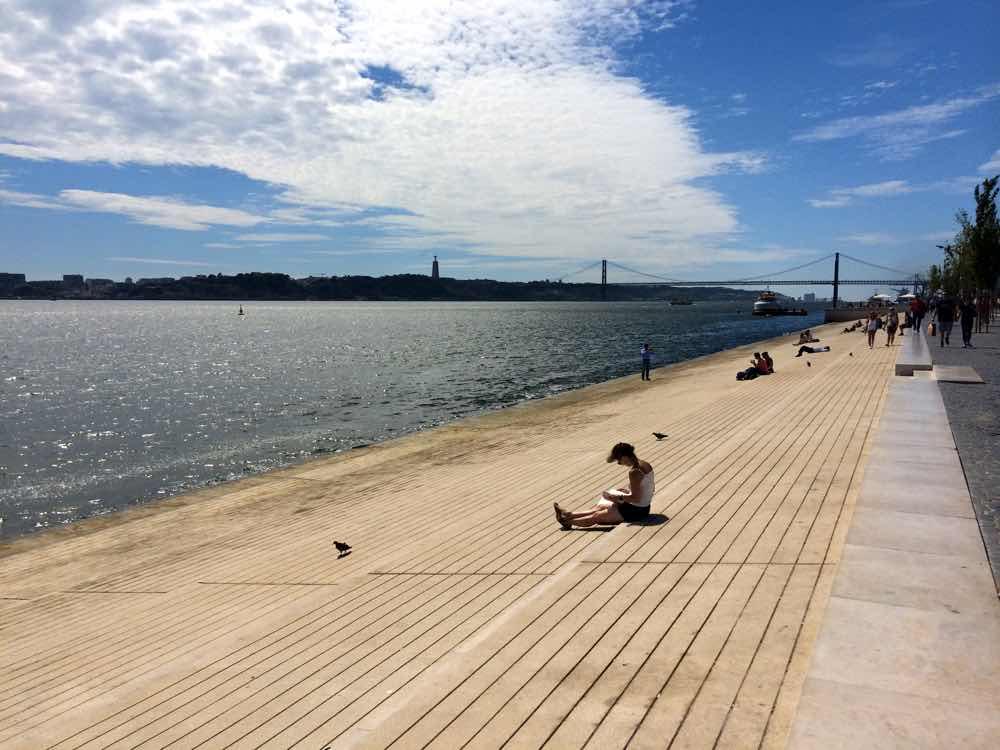 Visiting Portugal - Ribeira das Naus
