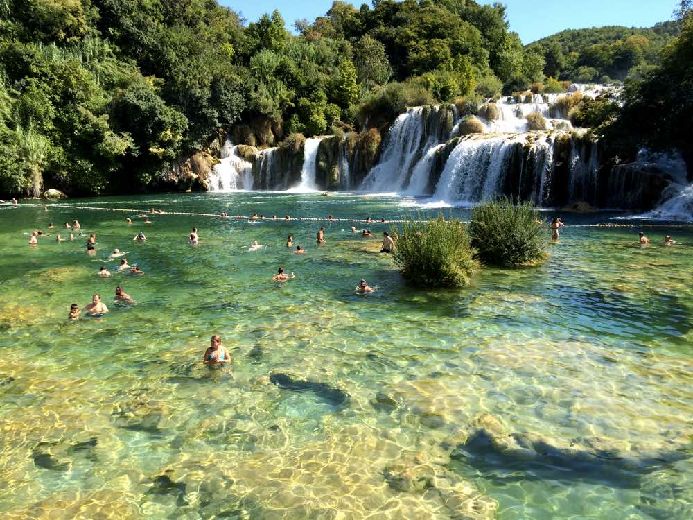 Experiences in Dalmatian coast - Krka Waterfalls