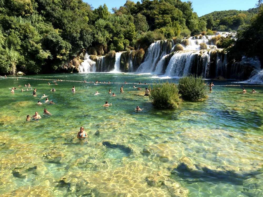 Experiences in Dalmatian coast - Krka Waterfalls