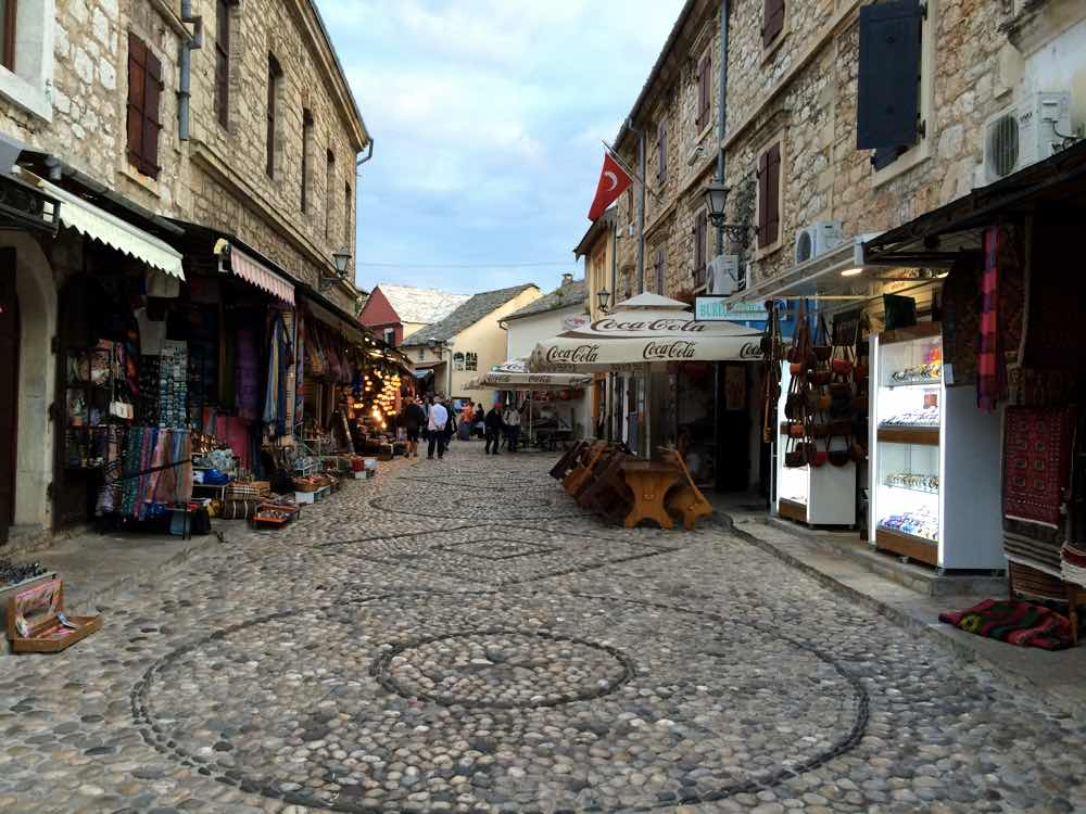 Day trip to Mostar - Old Town Pebble Stones