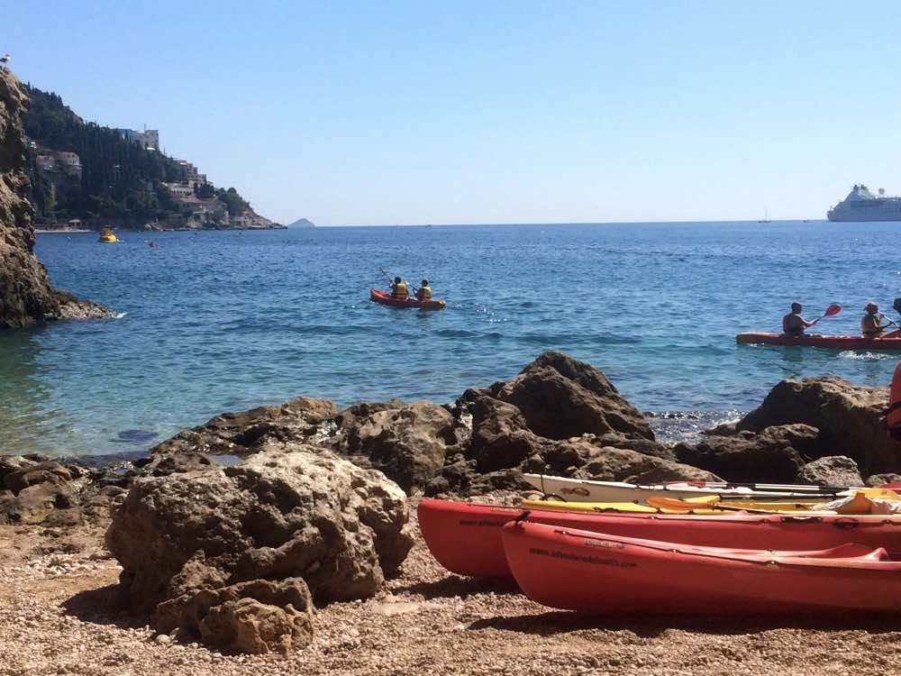 Experiences in Dalmatian coast - Sea Kayak Dubrovnik