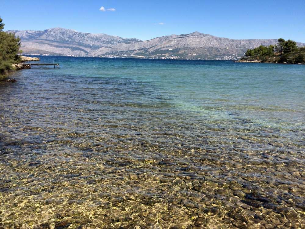 Zlatni Rat Beach in Brac Croatia - Lovrecina Bay
