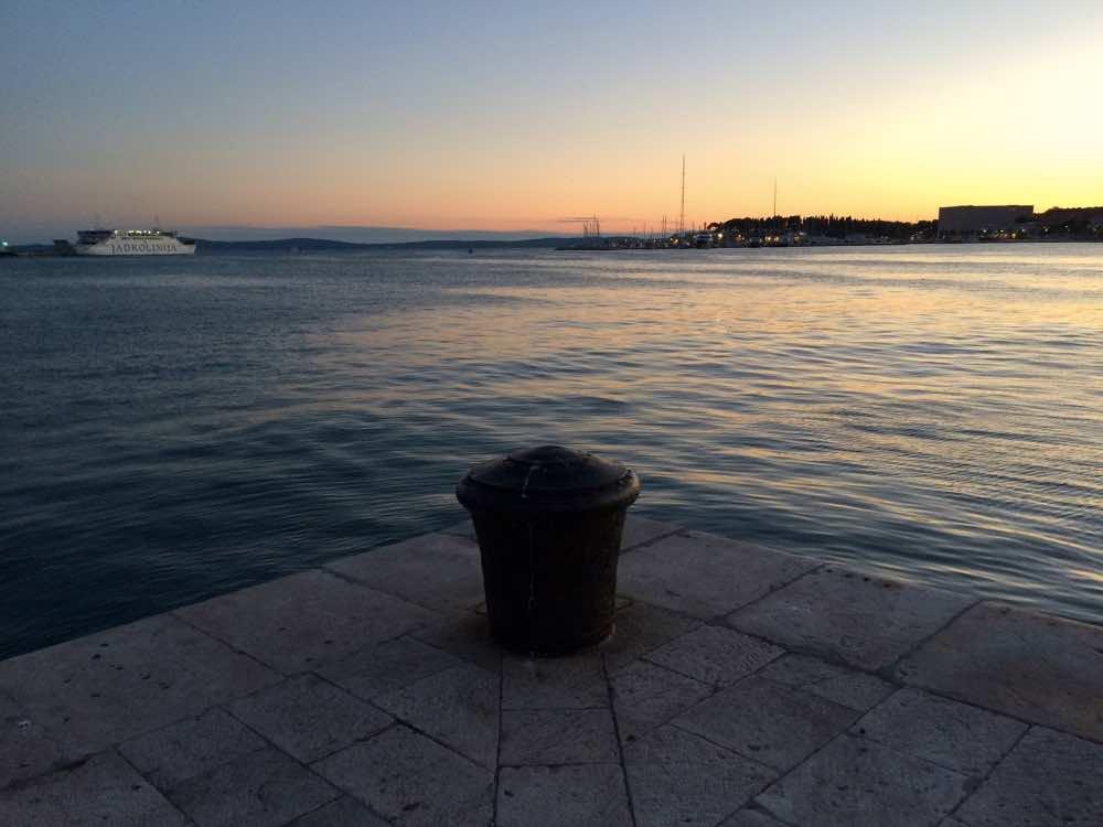 croatia road trip - Split Port
