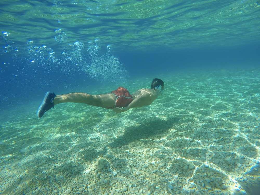 Zlatni Rat Beach in Brac Island - Kayaking