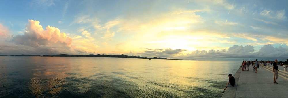 croatia road trip guide - sunset