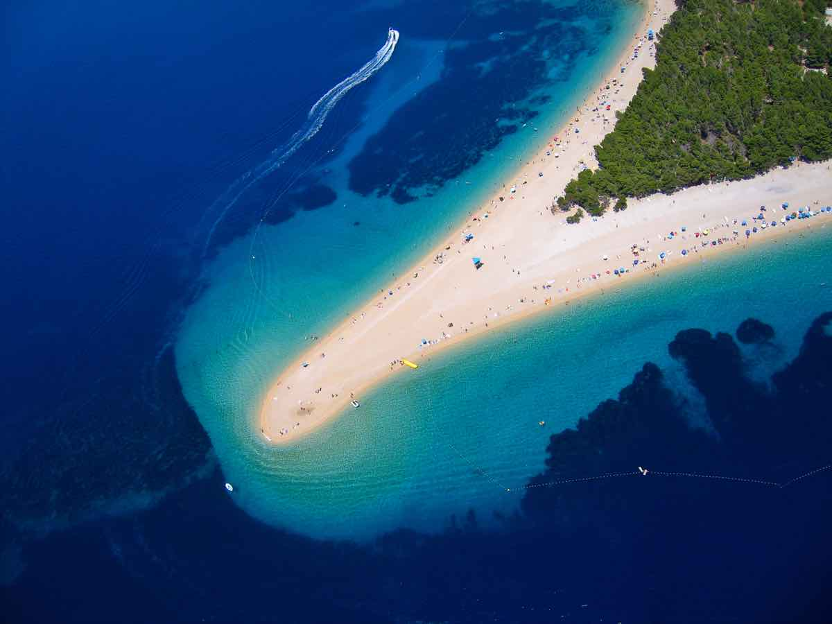 Zlatni Rat Beach brac guide
