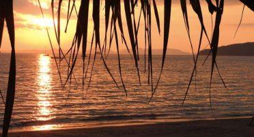 islands thailand sunset