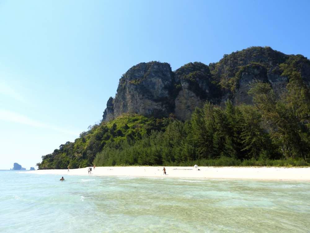 thailand island hopping beach experience