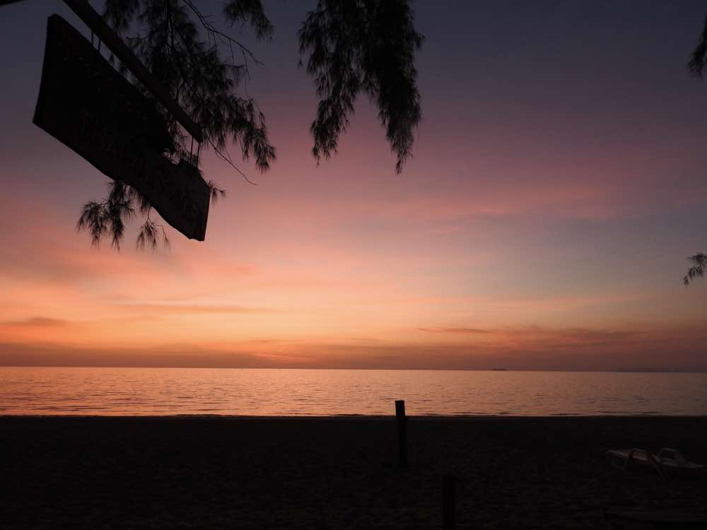 koh lanta guide sunset