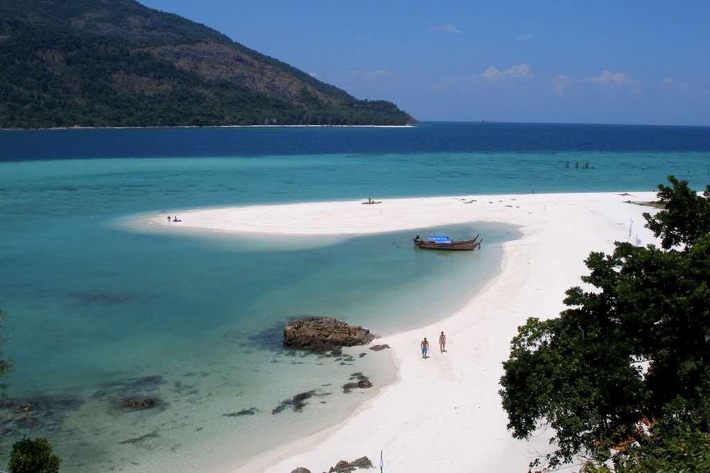 thailand island hopping koh lipe sunset beach