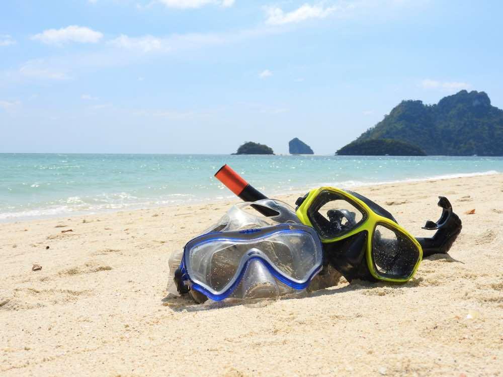 thailand island hopping koh poda snorkeling