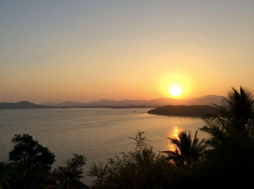 thailand island hopping phuket sunset