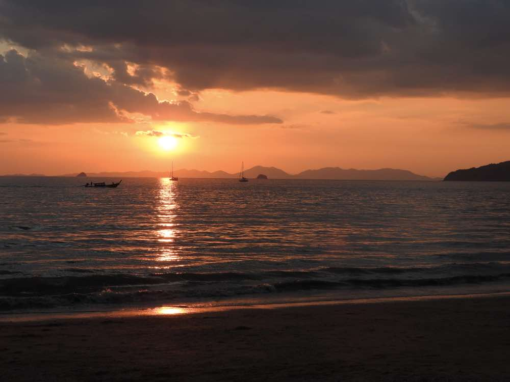 andaman sea islands thailand andaman coast sunset