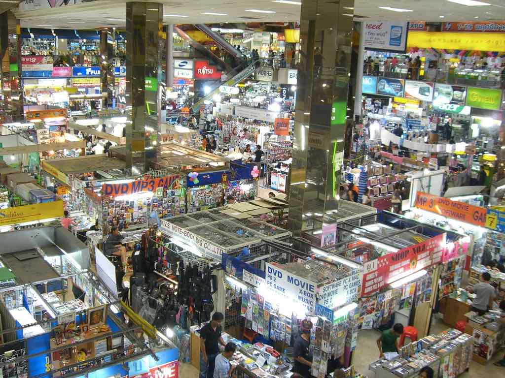 bangkok shopping guide pantip plaza