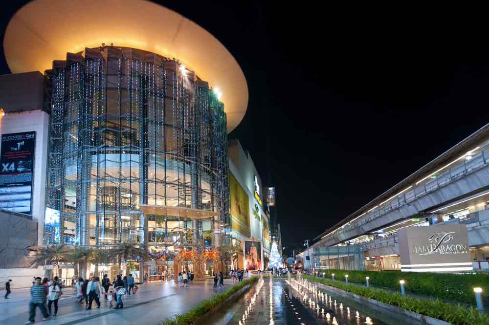 bangkok shopping guide siam paragon luxury shops