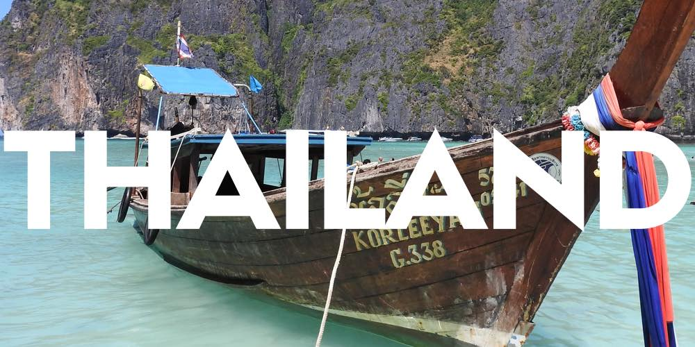 destinations thailand