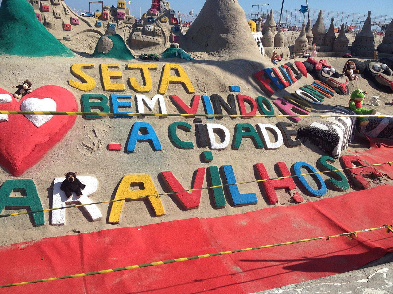 how to stay safe in rio sand art